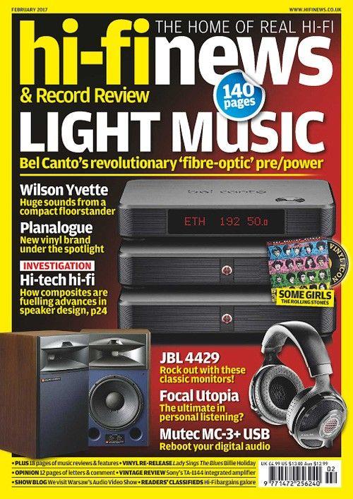 Hi-Fi News - February 2017