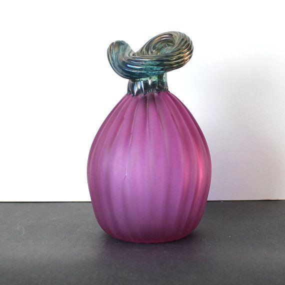 Oiva Toikka,  Purple Glass Eggplant