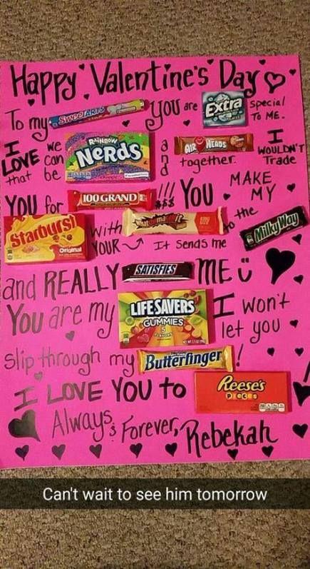 67+ Ideas Diy Ideas For Boyfriend Valentines Day Cute Cards