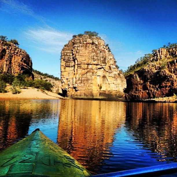 Canoeing in Katherine Gorge