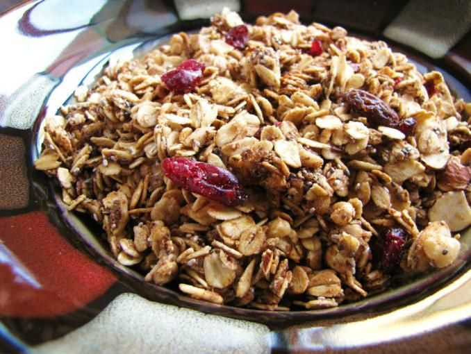 Aprende a hacer tu propia granola