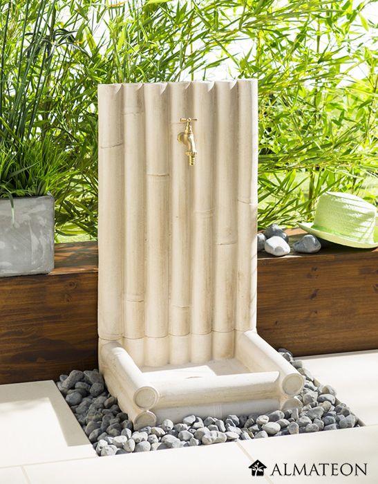 Les 83 meilleures images du tableau fontaines d 39 ext rieur for Fontaine bambou exterieur