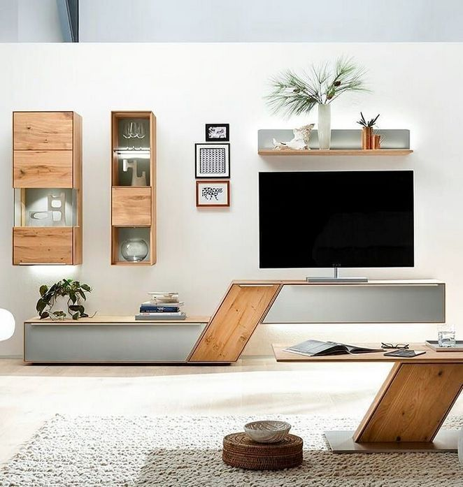 When It Has To Do With Furniture Precisely The Same Rule Applies Consequently Contemporary Furnitu With Images Tv Unit Decor Tv Unit Furniture Design Living Room Tv Unit