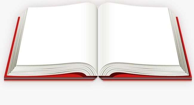 Opened Books Book Red Png Transparent Clipart Image And