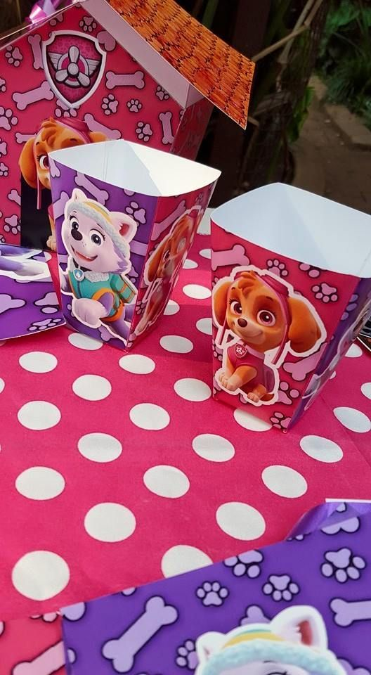 Kiddies Theme Parties hire out gazebos, picnic tables, umbrellas and photo boards for your Paw Patrol party.