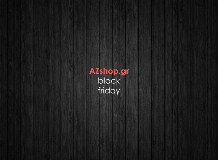 Αυτήν την Παρασκευή θα τα δείτε όλα μαύρα στο www.AZshop.gr :-) #azshop #black #friday