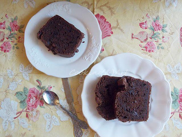 Σοκολατένιο κέικ με τυρί κρέμα / Chocolate cake with cream cheese