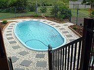 Best 25 fiberglass swimming pools ideas on pinterest - Above ground fibreglass swimming pools ...