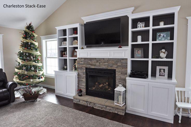... Home Decor:Amazing Built In Shelves Around Fireplace Decorate Ideas  Unique At Interior Design Trends ...