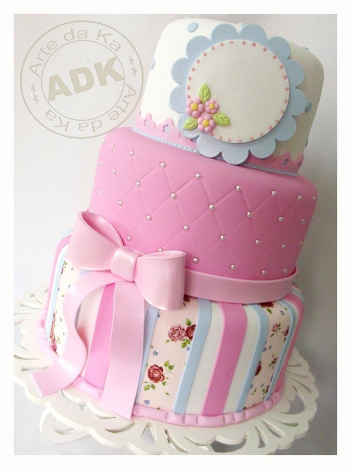 Lovely little girl cake.