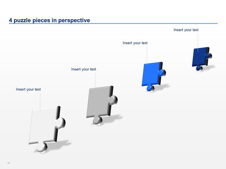 Best Puzzle Powerpoint Templates  By ExDeloitte Designers