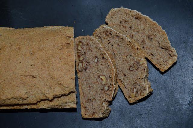 Mlsná máma : Celozrnný chléb - bez droždí, bez pšenice