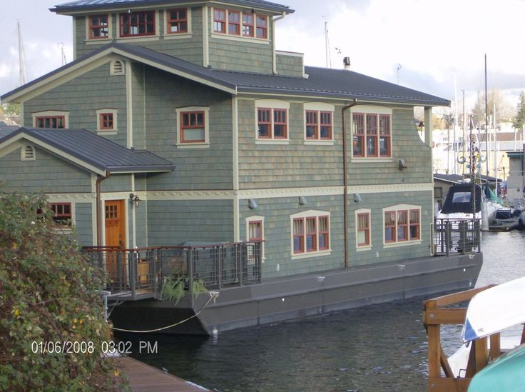 184 Best Houses Boats Images On Pinterest Houseboat