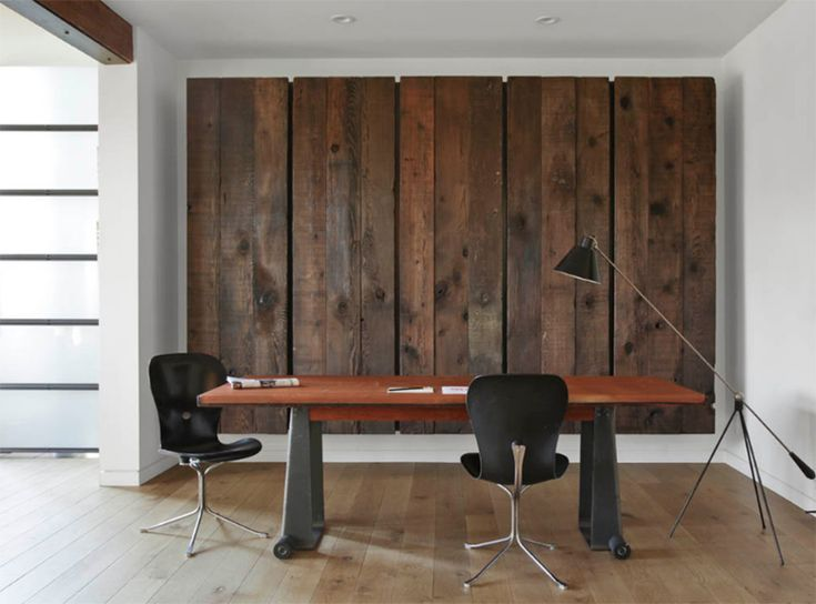 22 Warm Wooden Home Office Designs
