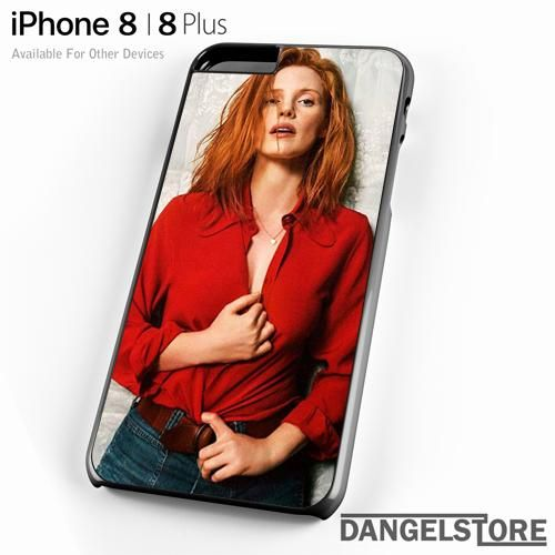 Amazing Jessica Chastain 2 Y For iPhone 8 | 8 Plus Case