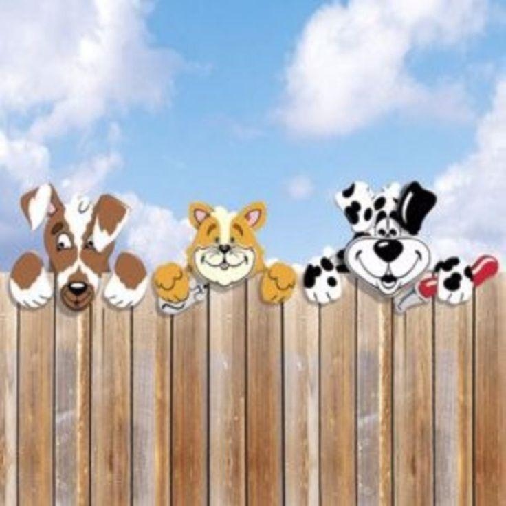 Забор животные картинки