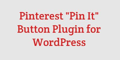 """Add a Simple and Flexible """"Pin It"""" Button to Your WordPress Site -- http://pinterestplugin.com/"""