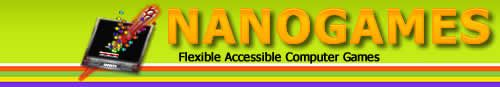 Accessible Computer Games For Windows And Macs~ Meeting the needs for individuals with Low Vision and for individuals who need other accommodations such as Single Switch, Touch Screen, Keyboards, Mouse / Headmouse, Eye Tracking, and Speech Recognition.