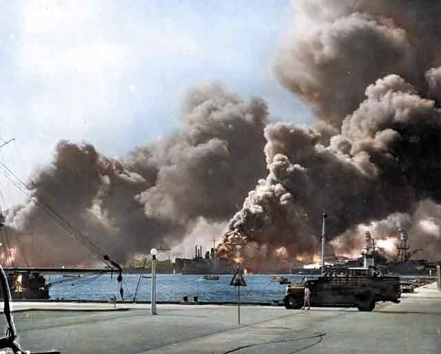 December 7 1941 Japan Attacks Pearl Harbor In 2020 Pearl