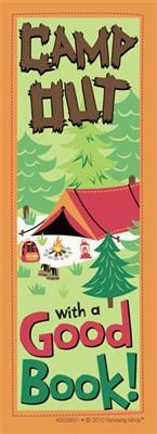 Camp Out With A Good Book! Bookmarks