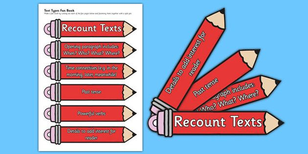 * NEW * Pencil Themed Recount Writing Prompt Fans