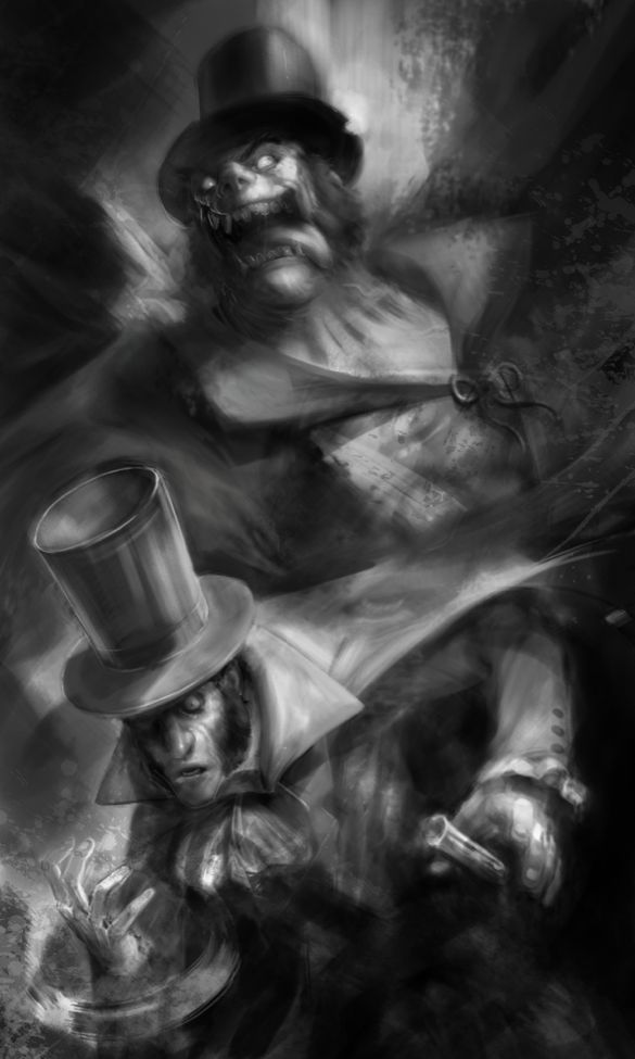 Dr. Jekyll and Mr. Hyde, by Joe Vriens