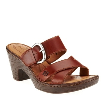 Born Women's Salima Slide Sandals in Spring Preview 2013 from FootSmart on  shop.CatalogSpree.