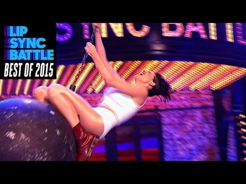 "Anne Hathaway's ""Wrecking Ball"" (Top 5 Lip Syncs of 2015) 