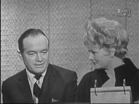 What's My Line? - Lucille Ball & Bob Hope; Buddy Hackett [panel] (May 5,...