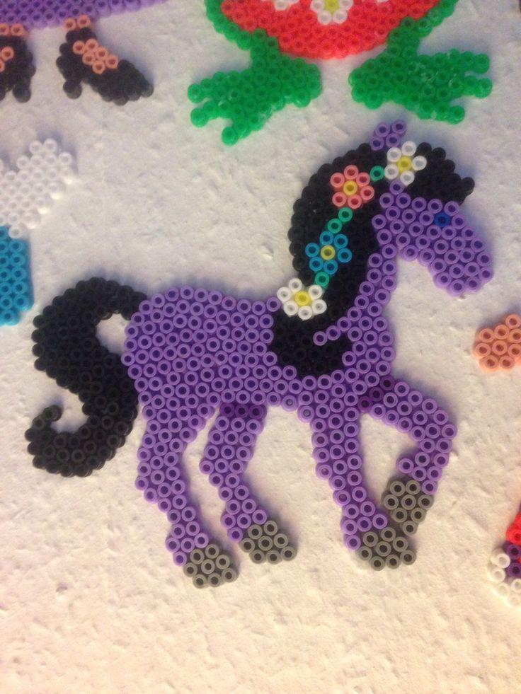 Hest - hama beads - hama perler