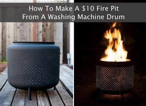 Wie aus einer Waschmaschinentrommel ein Grill wird