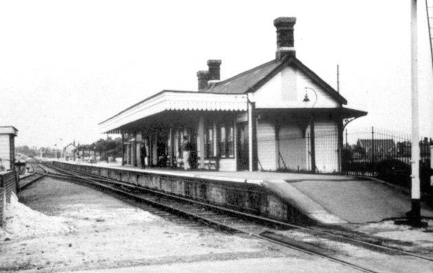 The now demolished Beach Station, Felixstowe.