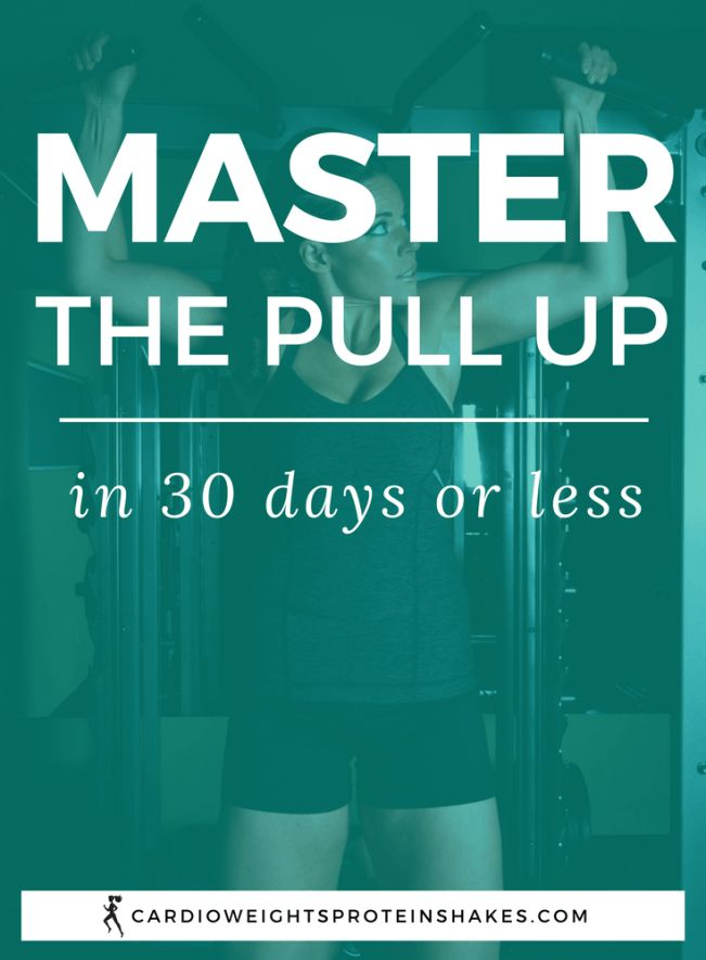 How to do a pull up for beginners or learn how to increase the number of pull ups you can do! This pull up training will teach you pull up technique and tips to do your first pull up. You'll train your upper body and learn how to do a pull up