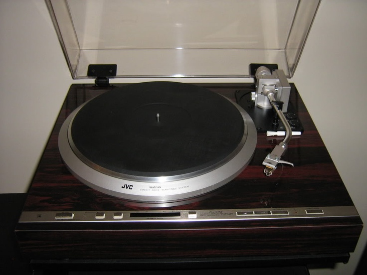 JVC QL-Y5F direct drive turntable
