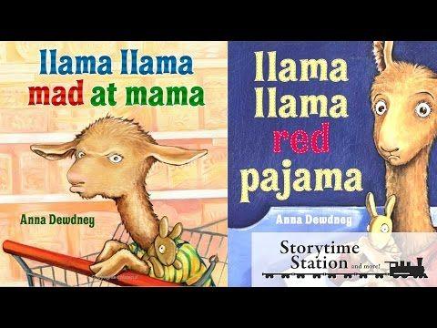 Llama llama Mad at Mama and other Llama llama books - Books for kids read aloud! - YouTube