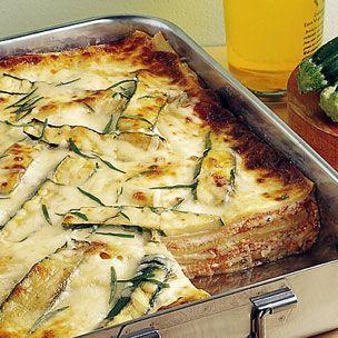 Zucchini Lasagna via Williams-Sonoma  #healthy #zucchini #dinner