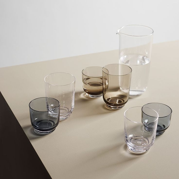 'Plint' glassware by Andreas Engesvik for Magnor Glasswerk