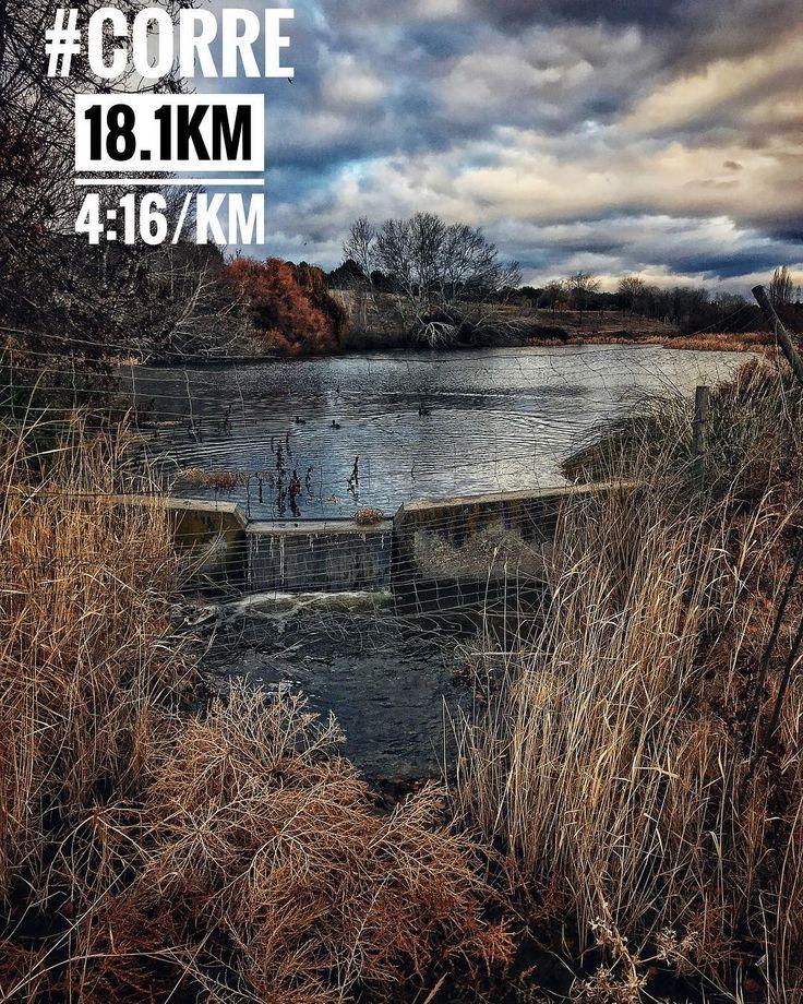 Carrera fundido por el viento  #nada #pedalea #corre #triathlon #ironman