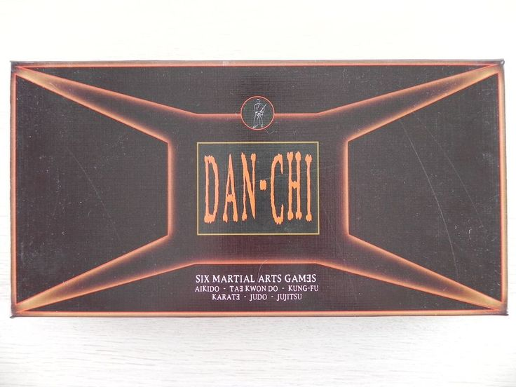 Dan-Chi Make the Grade Six Martial Arts Games Board game, 2003, complete set, ve #AEuroInvention