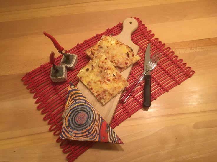 Eine tolle Alternative zu Pizza, individuell belegbar und der Hit eines jeden Fernsehabends!