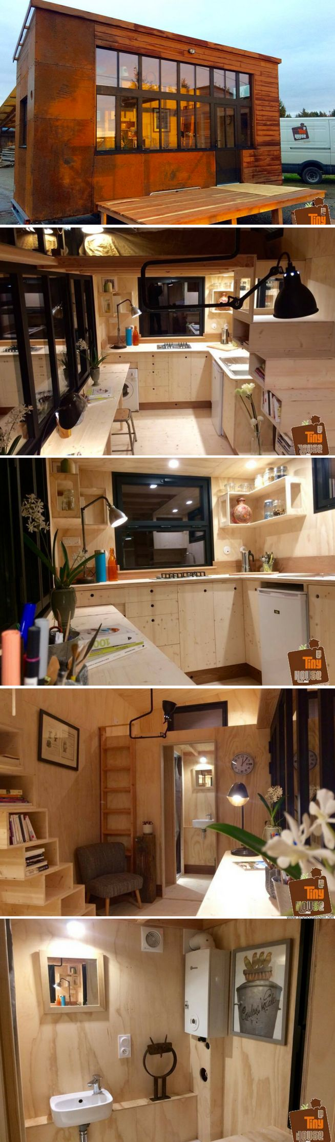 1355 best Cabane and Tiny House images on Pinterest   Small houses ...