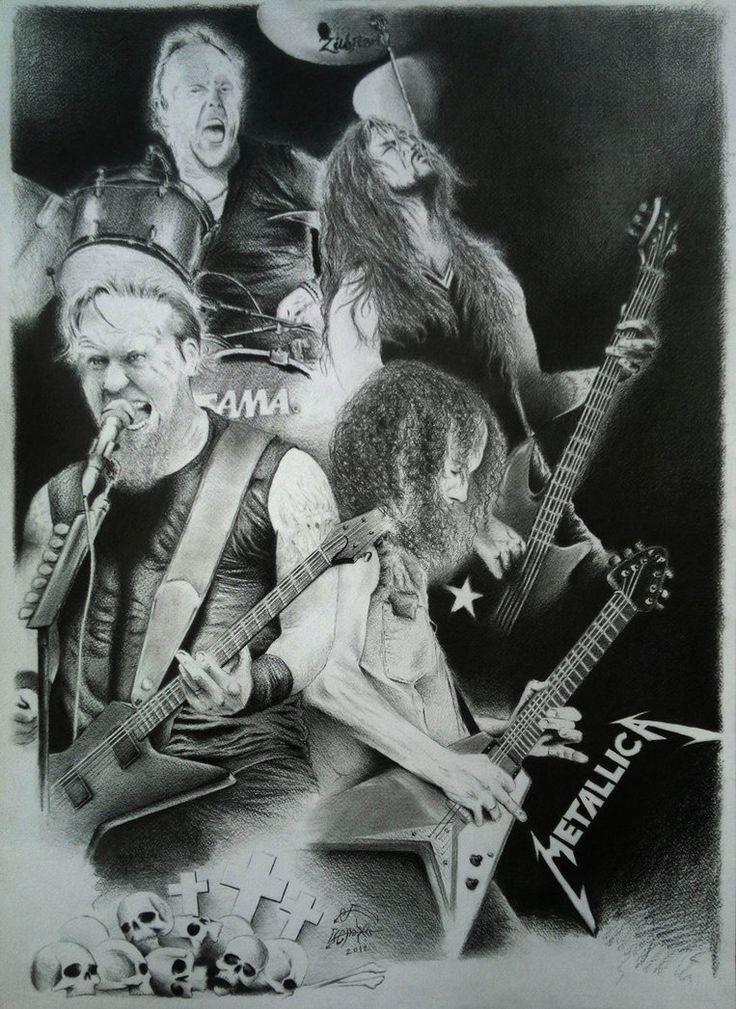 Metallica by AminVakili on DeviantArt