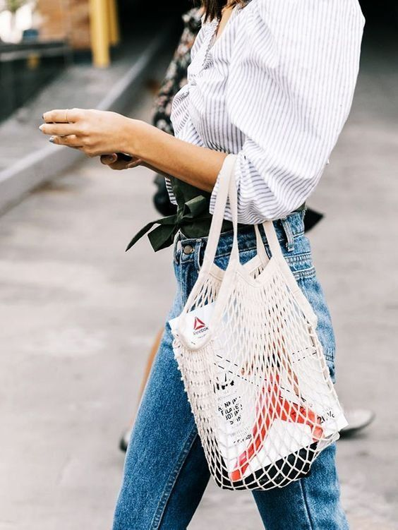 536d0973a2c Trend: fishnet bag | Inspo | More on fashionchick.nl | Clothes & Jewelry &  Things in 2019 | Net bag, Bags, Fashion