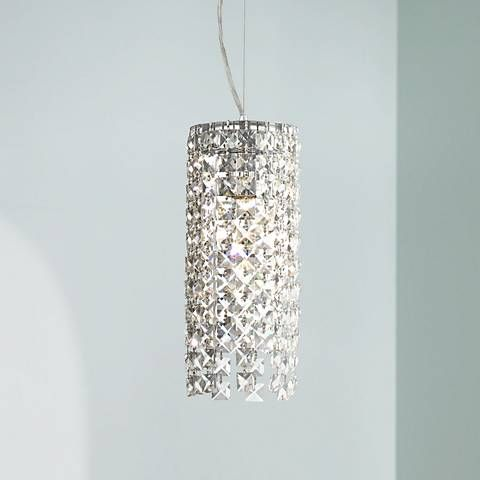 Add a little elegance to your space with this crystal mini-pendant light from the Vienna Full Spectrum lighting collection.