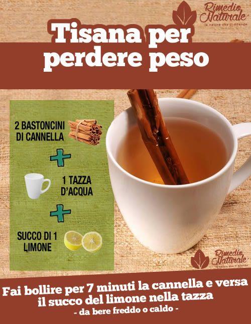 Cannella e limone: come preparare la tisana che scioglie il grasso e fa perdere 4 chili in 6 giorni