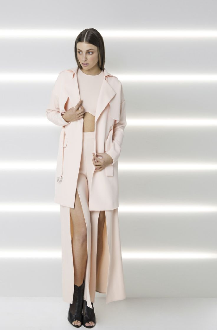 Finders Keepers - Time Waster Coat In Shell