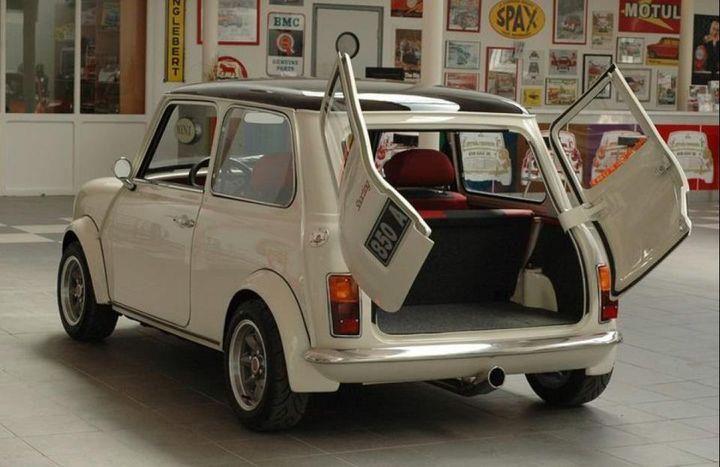 Mini Cooper With Barn Doors Cars Mini Cooper Classic