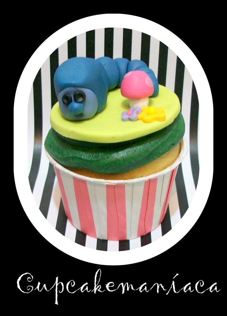 cupcakes Alicia en el pais de la maravillas.