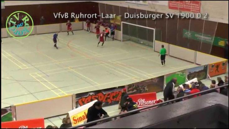 VfvB Ruhrort Laar – Duisburger SV 1900  Duisburger Hallenfußball-Stadtmeisterschaften 2015.Vorrunde, Gruppe A.   http://www.tv-rekord.de