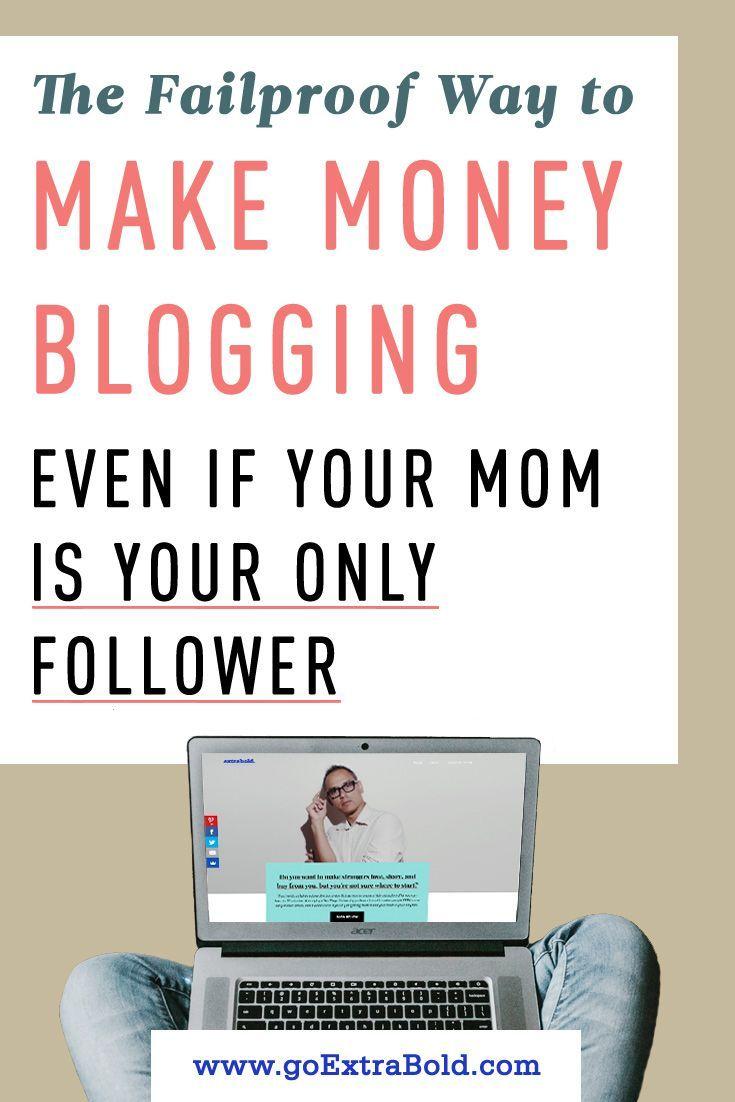 Der ausfallsichere Weg, um mit dem Bloggen Geld zu verdienen, auch wenn Ihre Mutter Ihre einzige Nachfolgerin ist – Marketing Leap – Make money online with affiliate marketing